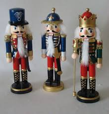 to decorate with nutcrackers especially above the fireplace