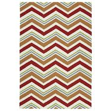 Outdoor Chevron Rug Handmade Indoor Outdoor Getaway Chevron Rug 4 X 6 Free