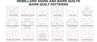 barn quilt patterns u0026 colors
