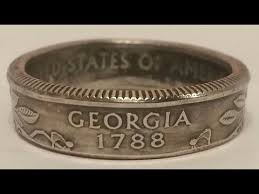 make metal rings images How to make a coin ring for cheap with forged coin ring making jpg