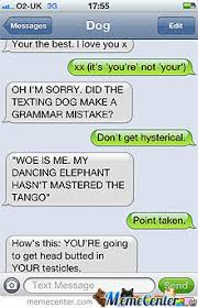 Dog Text Memes - dog text by recyclebin meme center