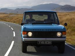 1970 Land Rover Range Rover Information And Photos