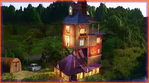 The Burrow Floor Plan Ron Weasley Lecadeau The Sims 3 Harry Potter Pinterest