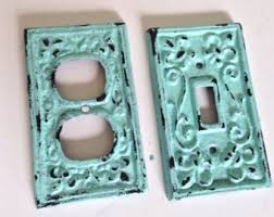 Shabby Chic Light Switch Covers by Light Switch Cover Or Outlet Cover White Cast Iron Sold