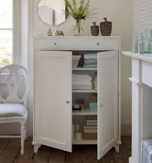 Bathroom Towel Storage Baskets by Magnificent White Bathroom Storage Cabinets Floor With Baldwin