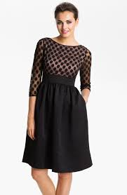 fashion trends black dressy dresses matched with ivory top dress