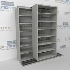 Deep Wall Shelves B621lg 4p7 Legal Size Double Deep Slide To Side System Sliding