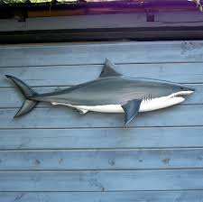 great shark 59 carving shark decor shark wall