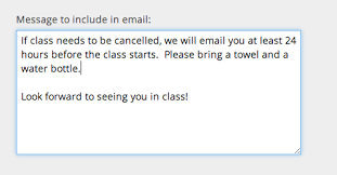 online confirmation class improvements to online class reservations punchpass