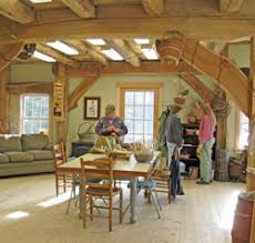 a frame home interiors courses on house building cabinetry woodworking timber framing