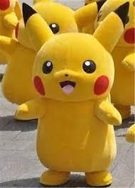 pikachu costume pikachu mascot costume fancy dress party