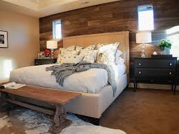 Wood Wall Treatments Enticing Bedroom For Adults Decoration Shows Impeccable Huge Bed With Astonishing Wooden Black End Table Feat Entrancing Bedroom Wood Wall Treatments Design