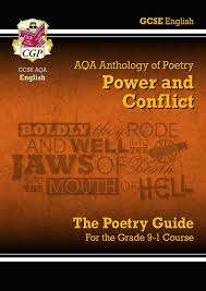 new gcse english literature aqa poetry guide power u0026 conflict