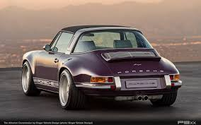 porsche singer 911 singer atherton is one incredibly purple porsche targa u2013 p9xx
