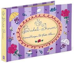 bridal shower photo album my bridal shower record keeper and photo album by beilenson