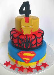 superman spiderman ironman superhero cake superman spid u2026 flickr