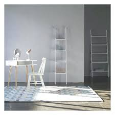 Small Bookcase White Desk Ana White Build A Leaning Ladder Wall Bookshelf Free And