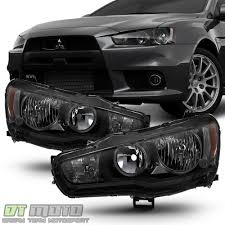 mitsubishi vietnam black smoke 2008 2017 lancer 08 15 evolution evo x halogen