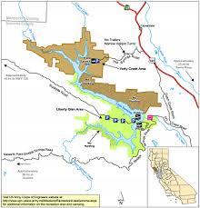 sonoma california map lake sonoma wildlife area