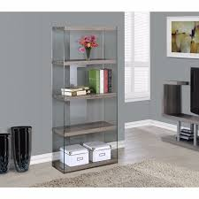 lawyers bookcase glass display cabinet shelves modern home office