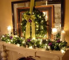 mantel decorations garland designcorner