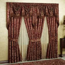Sheer Maroon Curtains Living Room Living Room Interior Ideas Remodel Living Room And