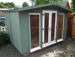 wooden log cabin garden room office wooden cabin insulated log cabin ebay