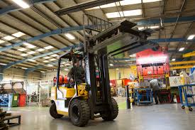 hyundai forklifts aim for ceiling at armstrong world