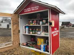 food pantries built by shepherdsville pastor to be placed at are