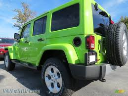 gecko green jeep 2013 jeep wrangler unlimited sahara 4x4 in gecko green pearl photo