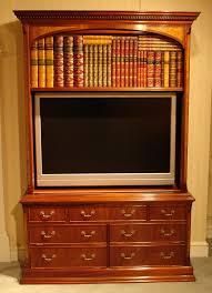 mahogany plasma tv bookcase