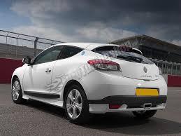 rear bumper extension renault megane iii coupe megane iii