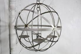 Outdoor Wrought Iron Chandelier by 24