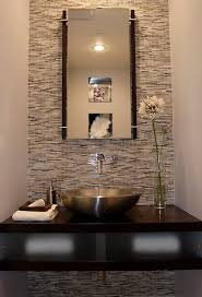 Smallest Powder Room - modern powder room los angeles modern furniture home designs