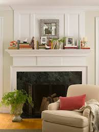 fireplace decorating ideas cheerful fireplace mantle design