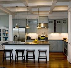 cuisine et grise cuisine gris et bois en 50 modèles variés pour tous les goûts