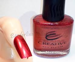 creative nail design cnd burgundy foil 28 1 pending swaps or