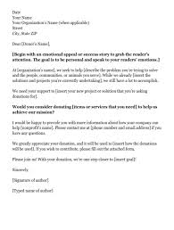 donation request letters asking for donations made easy inside
