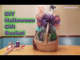diy halloween gift basket tutorial giftbasketappeal youtube