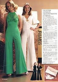 1970s jumpsuit 1974 elephant bell bottoms and