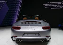 porsche 911 back 2017 porsche 911 made its world debut in frankfurt