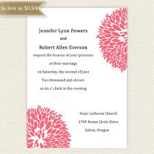 wedding invitations online pin it white paper and pink ornaments two side combined black