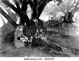 evelyn ankers u0026 lon chaney jr the wolf man 1941 stock photo