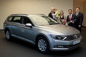volkswagen passat silver first vw passat delivered in germany r line packages now available
