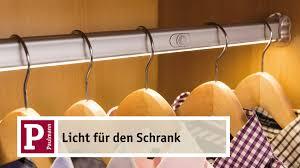 Schlafzimmerschrank Einbauschrank Licht Im Schrank Youtube