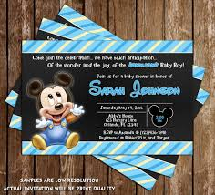 novel concept designs mickey mouse baby boy baby shower