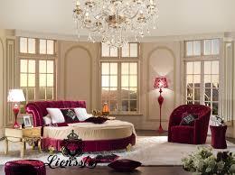 Barock Schlafzimmer Bilder Rundes Luxusbett Lionsstar Gmbh