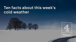 ten facts about this week s cold weather liam dutton channel 4 news