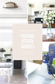 Can We Paint Kitchen Cabinets Painting Kitchen Cabinets For Beautiful Results Farmhouse Made