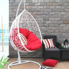 Patio Swing Chair by Baner Garden Oval Egg Hanging Patio Swing Chair U0026 Reviews Wayfair